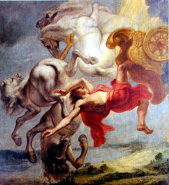 Jan Eyck: The Fall of Phaeton