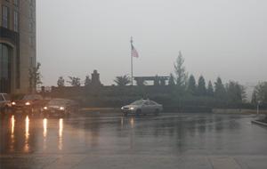Rain at ILTA