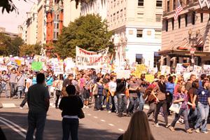 Gay march in Washington