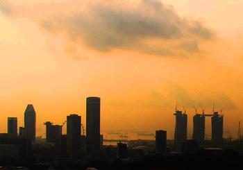 Singapore sky