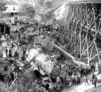 The Wreck of the Old 97 at Stillhouse Trestle