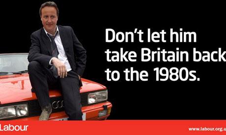 David Cameron as DCI Gene Hunt