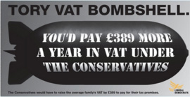 Tory tax bomb according to Vince Cable