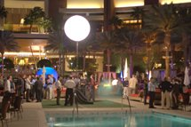 Poolside party at CEIC 2010