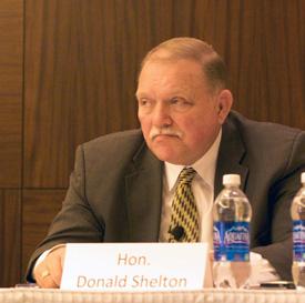 Hon Judge Donald Shelton