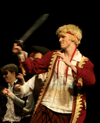 Tom Dale as the Pirate King