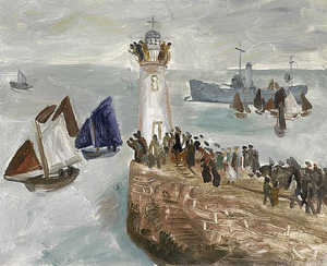 Christopher Wood Newlyn Harbour