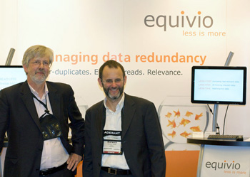 Chris Dale and Warwick Sharp of Equivio