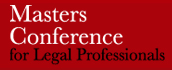 Masters Conference for legal professionals