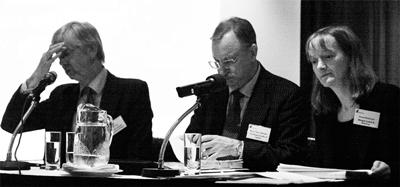 Chris Dale, Steven Whitaker, Denise Backhouse at IQPC Munich