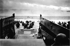 D-Day from the landing craft