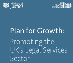 MoJ paper - Plan for growth