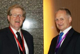 Lord Justice  Jackson and Vince Neicho of Allen & Overy