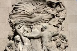Fort Dearborn reliefs