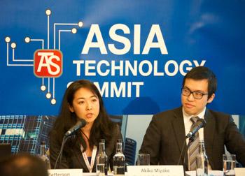 Akiko Miyake and Jonathan Wong