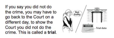 MoJ guide to criminal proceedings
